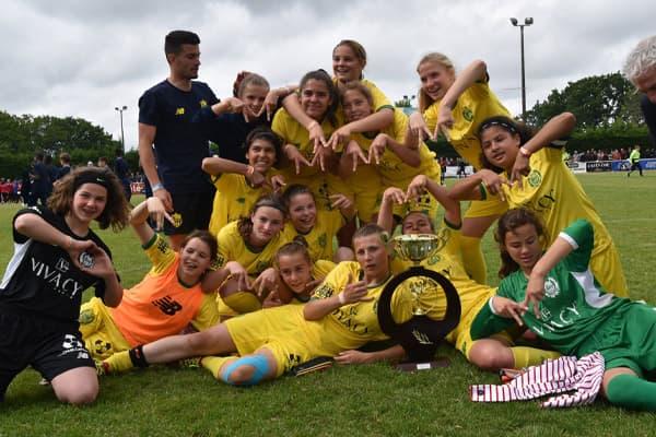 FC Nantes vainqueur tournoi féminin 2020